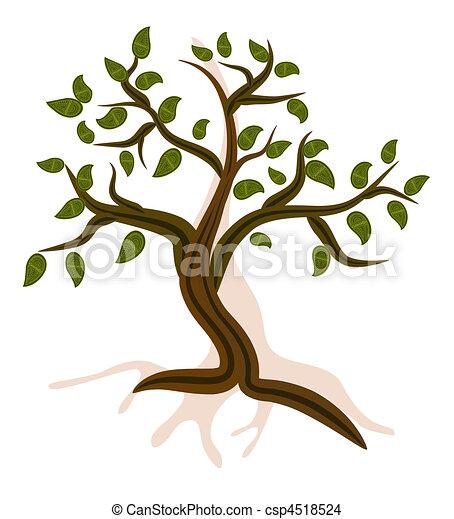 Mountain Tree - csp4518524