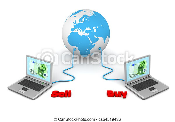 Connected to the World - e-Commerce - csp4519436