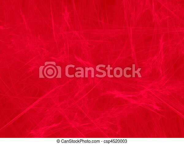 Red on red fractal image, tissue structure - csp4520003