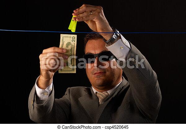 Money laundering - csp4520645