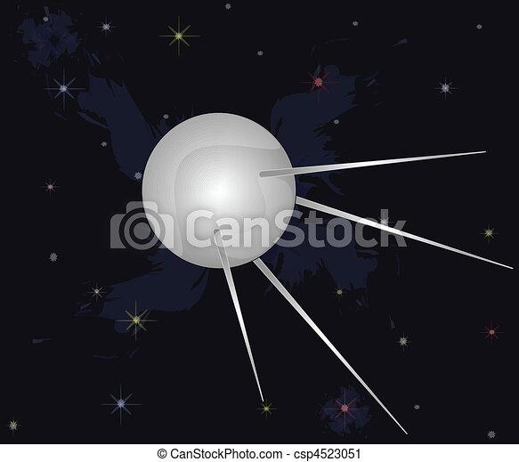 first spaceship - csp4523051