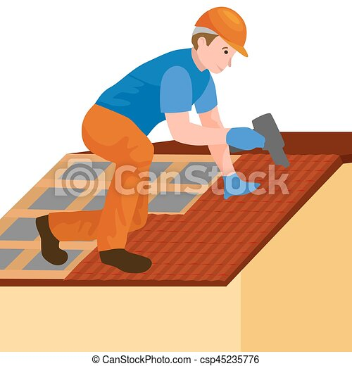 Haus bauen clipart  Vektoren Illustration von reparatur, haus, ausrüstung, draußen ...