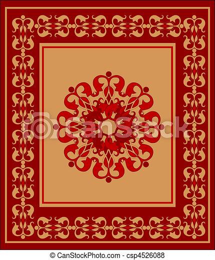 Vector van arabisch tapijt csp4526088 zoek naar clip for Van nederlands naar arabisch