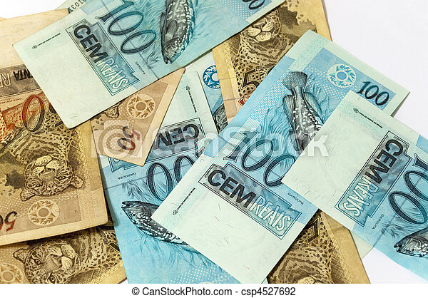 brazilian currency - csp4527692