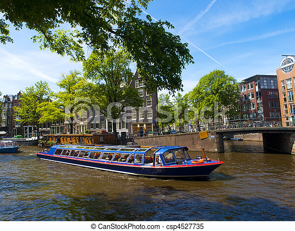 Amsterdam Canal - csp4527735