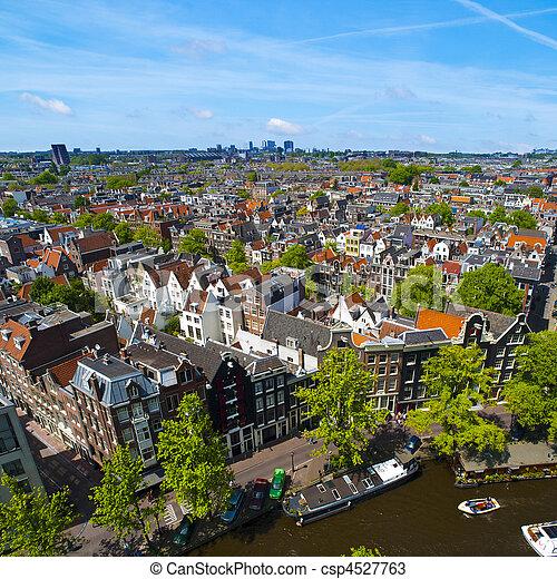 Sunny Amsterdam - csp4527763