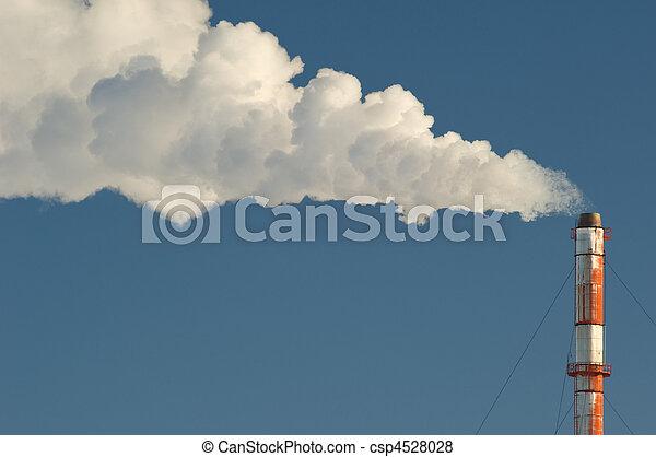 Industrial smokestack - csp4528028