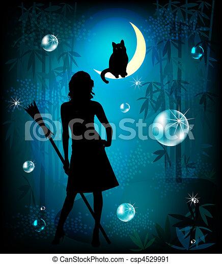 fantasy illustration - csp4529991