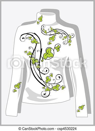 pullover design - csp4530224