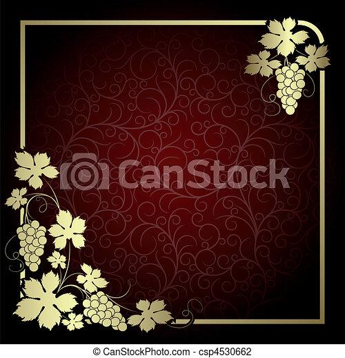 Background with vine - csp4530662