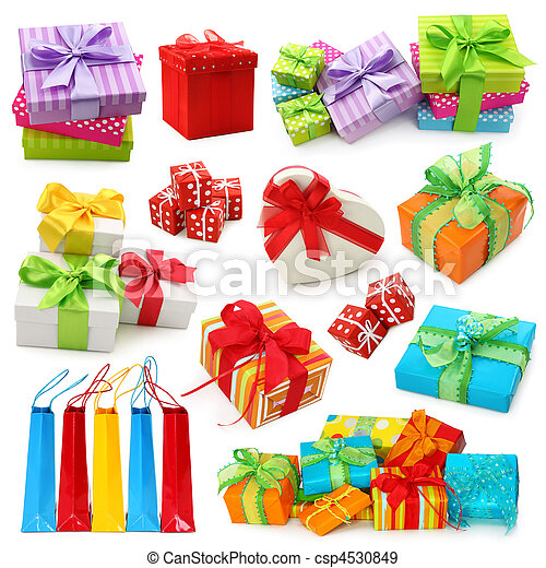 Gift boxes collection - csp4530849
