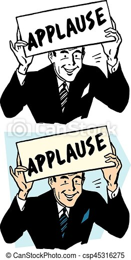 Applause Sign - csp45316275