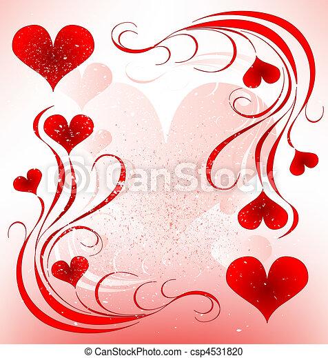 valentines day design - csp4531820