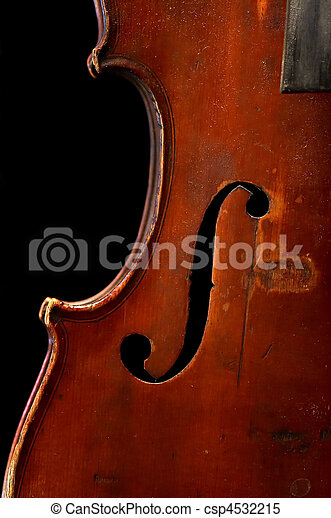 old fiddle - csp4532215