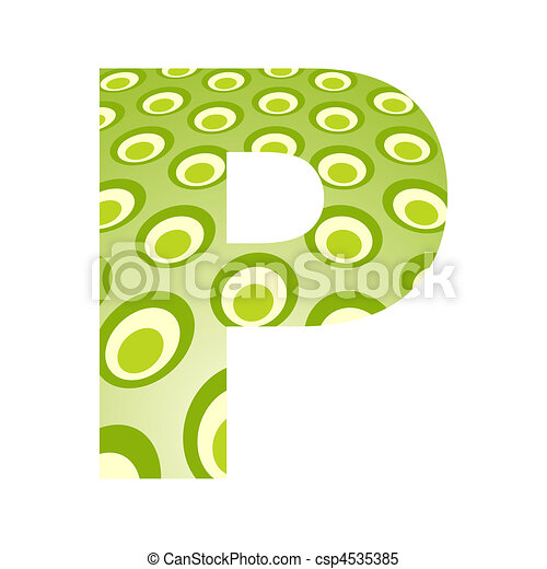 Letter p Cool Designs Cool Letter p Design Vector