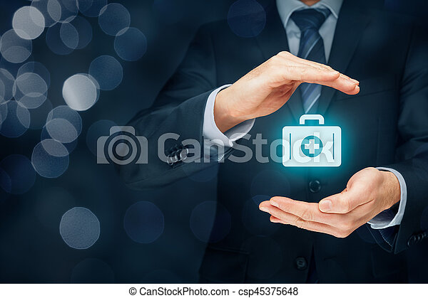 seguro médico - csp45375648