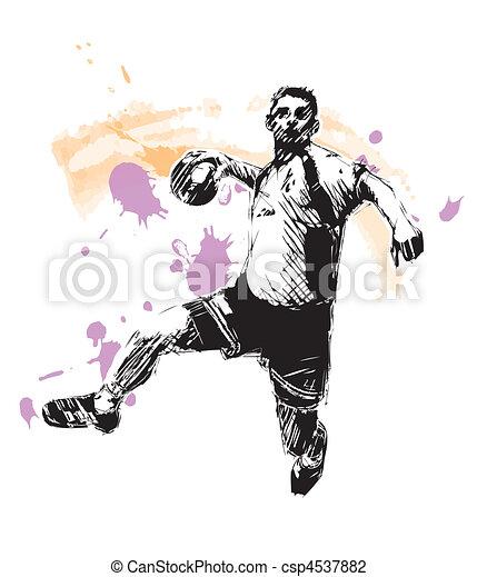 Handball Vector Clip Art EPS Images. 1,383 Handball clipart vector ...