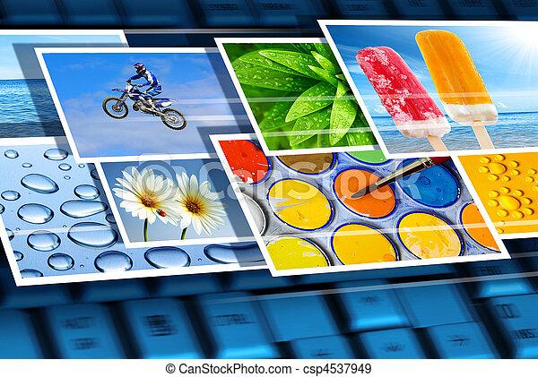 Digital imagery - csp4537949