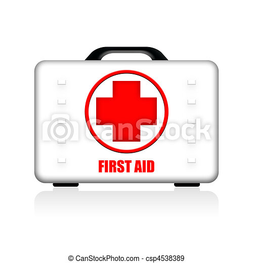 First Aid Hardwearing Case - csp4538389