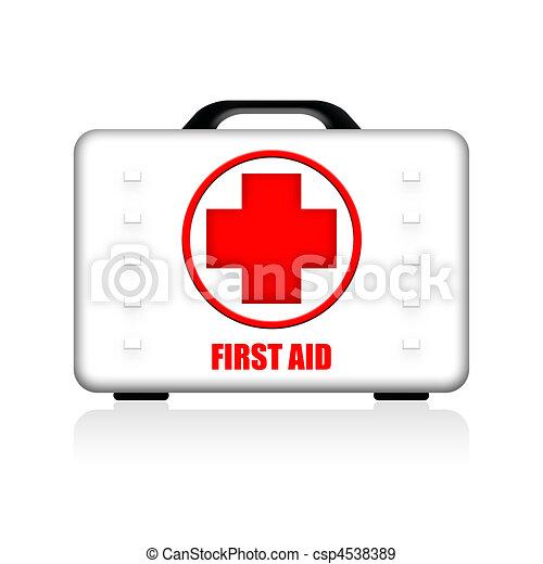 First Aid Hardwearing Case - csp4538389