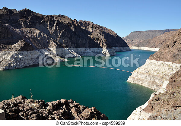 Lake Mead by Hoover Dam - csp4539239