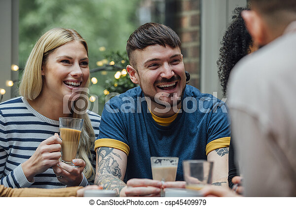 Catch Up Over Coffee - csp45409979