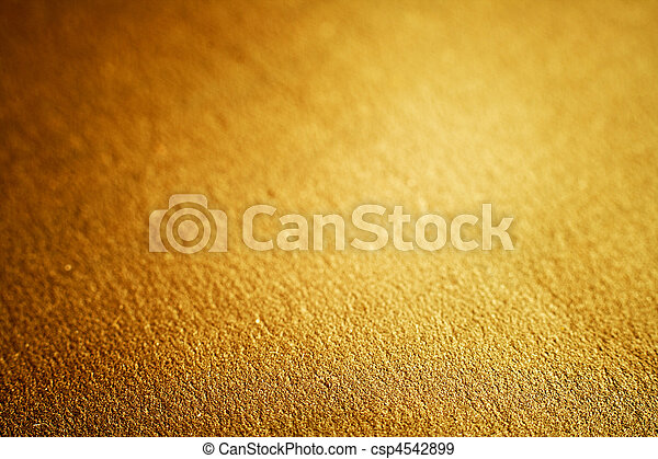 Luxury golden texture, shallow DOF - csp4542899