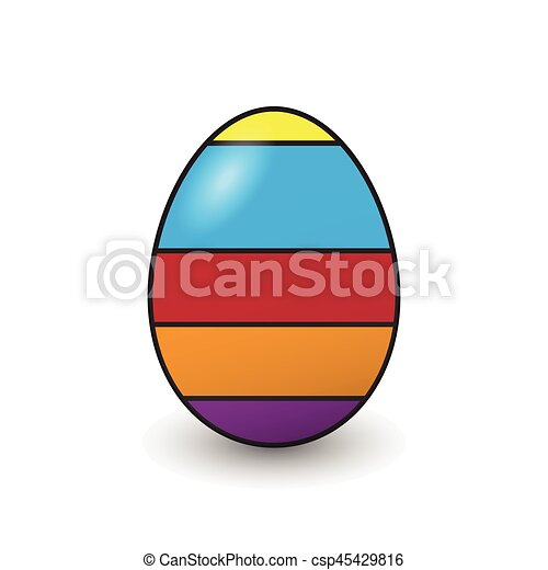Easter eggs - csp45429816