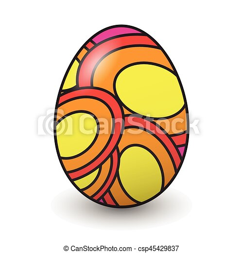 Easter eggs - csp45429837