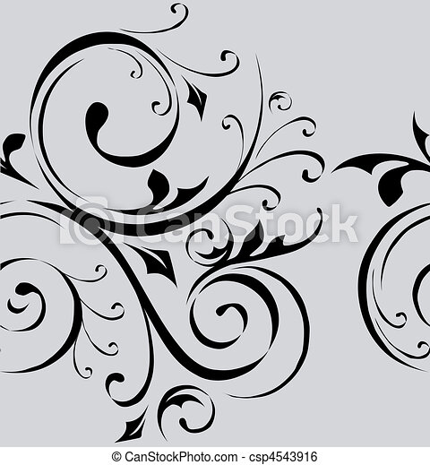 Seamless vector pattern wallpaper - csp4543916