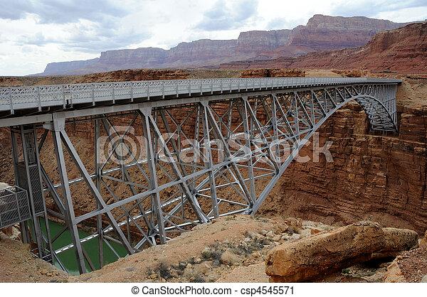 Navajo Bridge over Marble Canyon - csp4545571