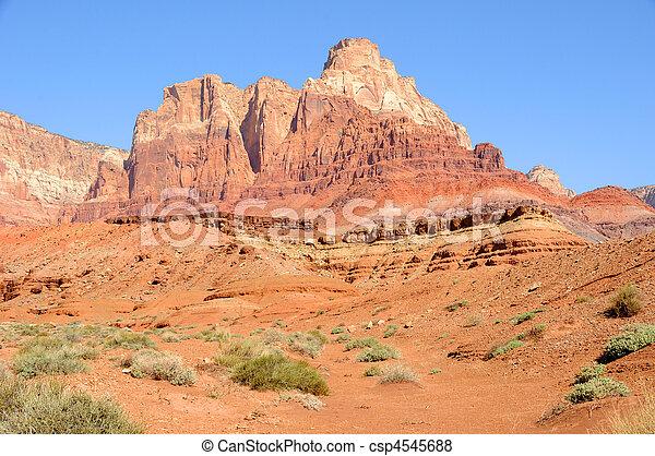 Vermilion Cliffs National Monument  - csp4545688