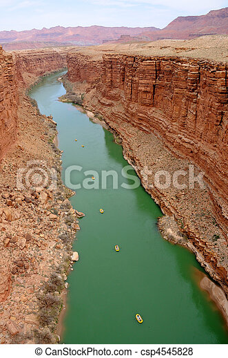 Marble Canyon - Glen Canyon National Recreation Area - csp4545828