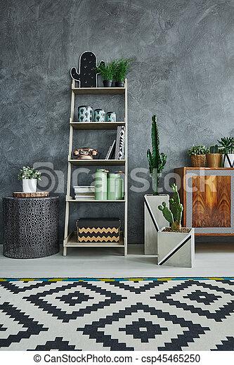 Scandi studio flat with minimalistic furniture