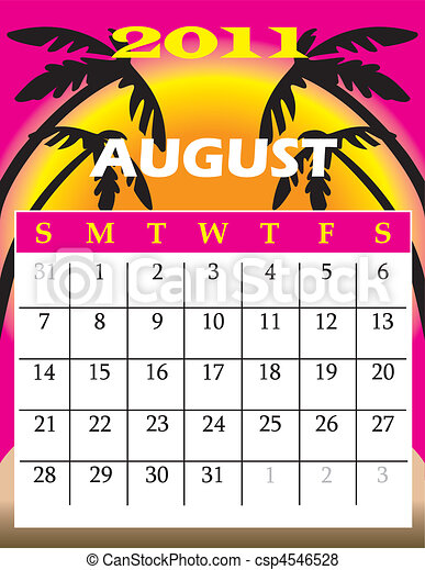 August 2011 - csp4546528