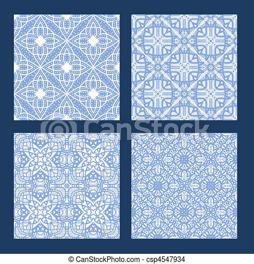Dessin de bleu seamless texture collection blanc for Texture carrelage blanc