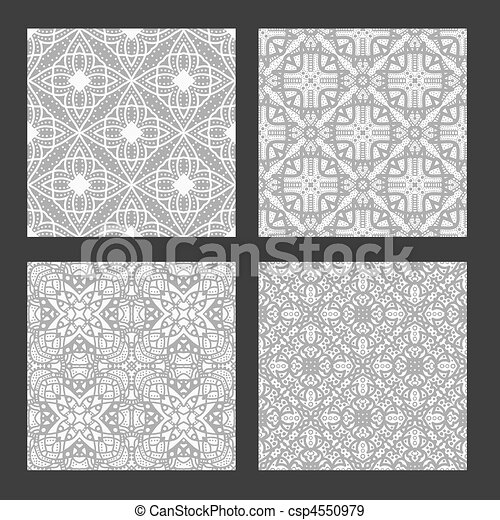 illustration de gris seamless collection texture blanc. Black Bedroom Furniture Sets. Home Design Ideas