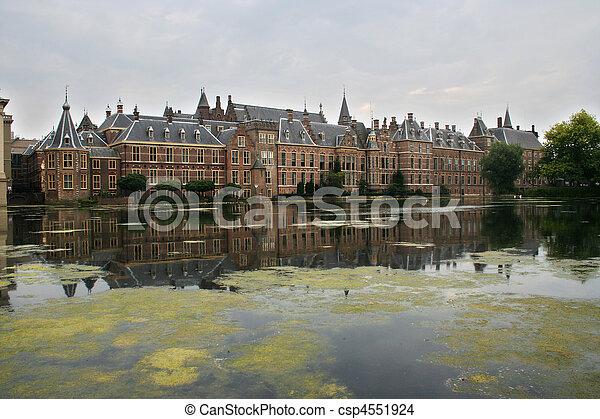 edificios, Parlamento, holandés - csp4551924