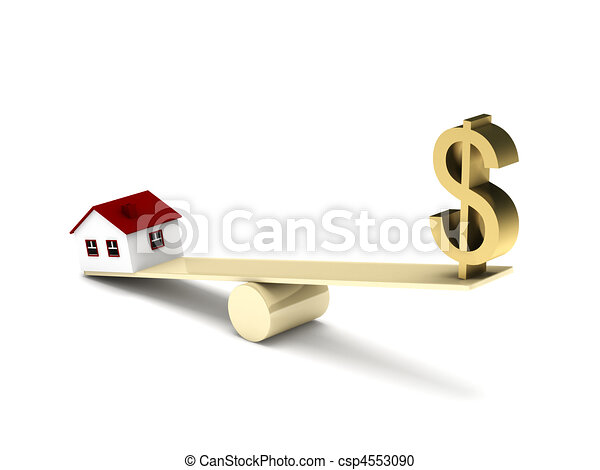 Real estate finance - csp4553090