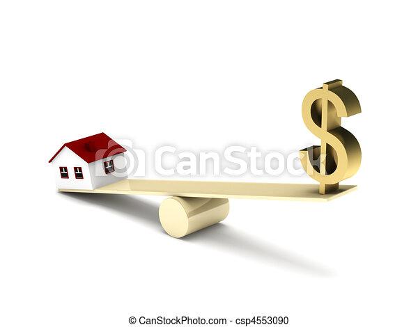 Real estate finance - csp4553090