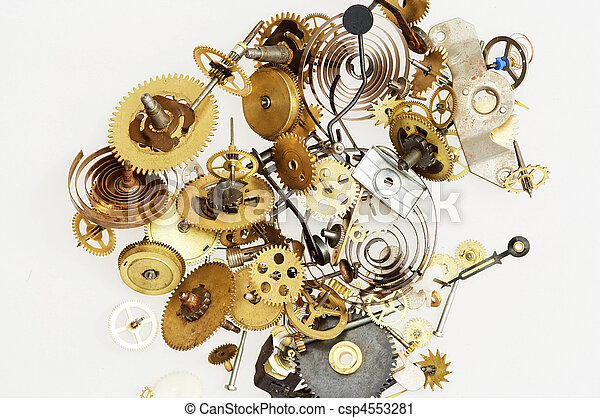 broken clockwork mechanism - csp4553281