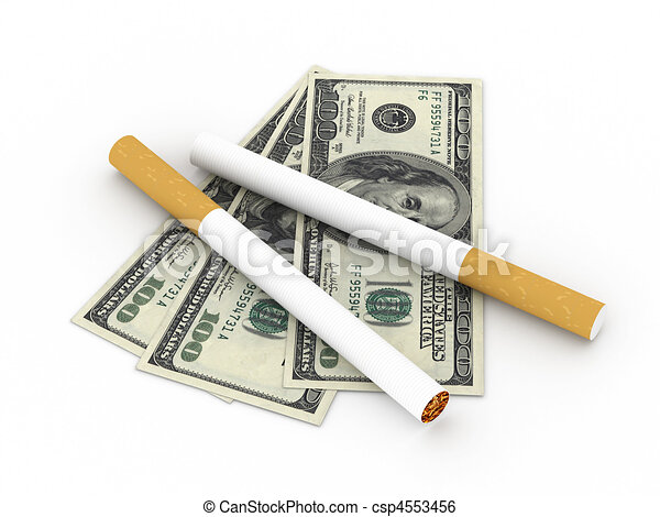 Cost of smoking - csp4553456