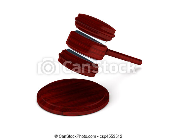 gavel on the move - csp4553512