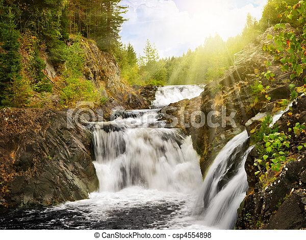 waterfall - csp4554898
