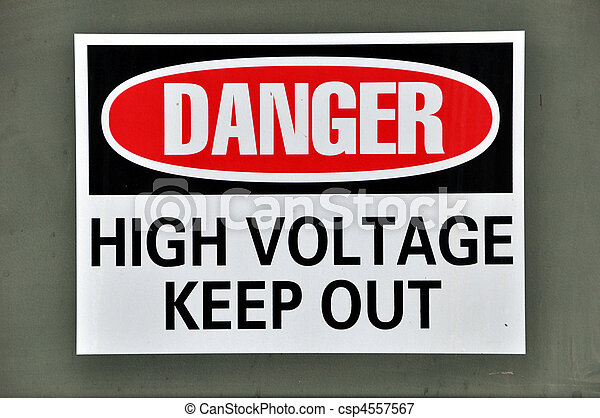 Danger - High Voltage - csp4557567