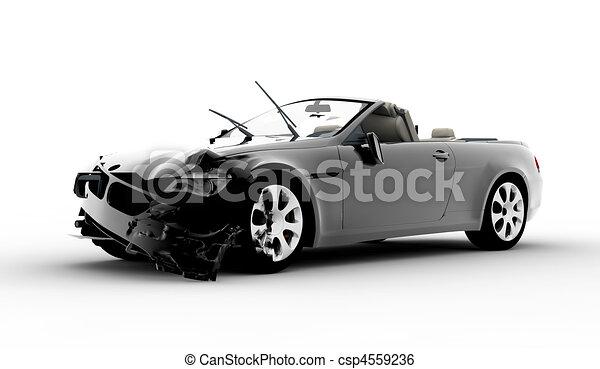 Accident car - csp4559236