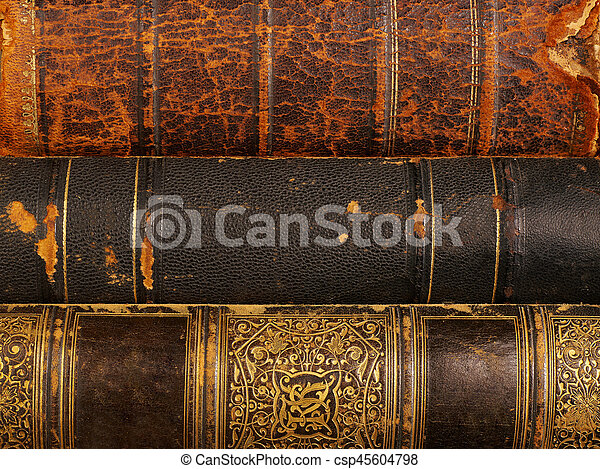 Old books covers