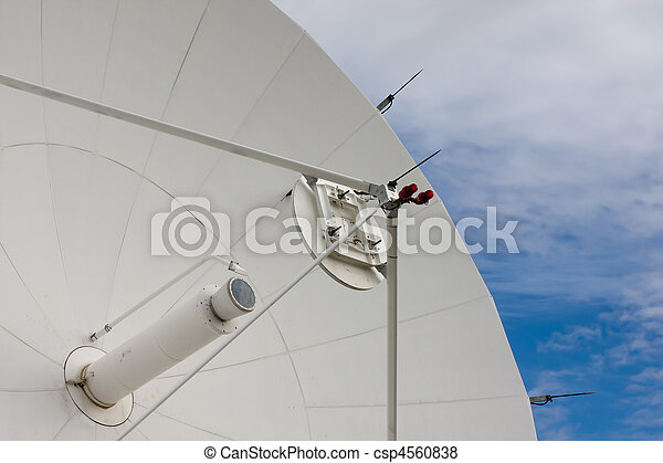 Satellite Dishes at National Radio Astronomy Observatory - csp4560838