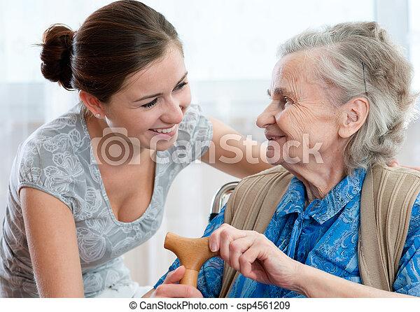 nursing home - csp4561209