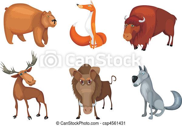 animal set - csp4561431
